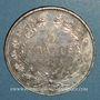 Monnaies Louis Philippe (1830-1848). 5 francs 1845 A. Proue de navire