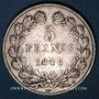 Monnaies Louis Philippe (1830-1848). 5 francs 1846A
