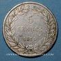 Monnaies Louis Philippe (1830-1848). 5 francs, tranche en creux, 1831MA. Marseille