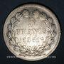 Monnaies Louis Philippe (1830-1848). 5 francs, tranche en relief, 1831 B. Rouen