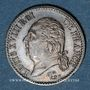 Monnaies Louis XVIII (1815-1824). 1/4 franc 1817 A