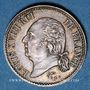 Monnaies Louis XVIII (1815-1824). 1/4 franc 1822 A