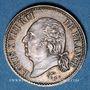 Monnaies Louis XVIII (1815-1824). 1/4 franc 1822A
