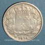Monnaies Louis XVIII (1815-1824). 1 franc 1821W. Lille