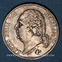 Monnaies Louis XVIII (1815-1824). 2 francs 1822A