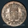 Monnaies Louis XVIII (1815-1824). 5 francs buste nu 1823D. Lyon