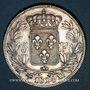 Monnaies Louis XVIII (1815-1824). 5 francs buste nu 1824MA. Marseille