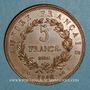 Monnaies Napoléon II (1811-1832). 5 francs 1816. Essai. Bronze