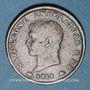 Monnaies Royaume d'Italie. Napoléon I (1805-1814). 1 soldo, 2e type, 1813M. Milan