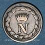 Monnaies Royaume d'Italie. Napoléon I (1805-1814). 10 centesimi 1812M. Milan