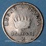 Monnaies Royaume d'Italie. Napoléon I (1805-1814). 15 soldi 1808M. Milan.    37 771 ex !