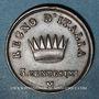 Monnaies Royaume d'Italie. Napoléon I (1805-1814). 3 centesimi, 2e type, 1811M. Milan