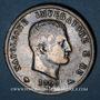 Monnaies Royaume d'Italie. Napoléon I (1805-1814). 5 lires 1809M. Milan