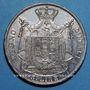 Monnaies Royaume d'Italie. Napoléon I (1805-1814). 5 lires 1811M. Milan