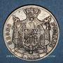 Monnaies Royaume d'Italie. Napoléon I (1805-1814). 5 lires 1812M. Milan