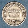 Monnaies Royaume d'Italie. Napoléon I (1805-1814). 5 soldi 1811M. Milan