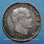 Monnaies Royaume d'Italie. Napoléon I (1805-1814). 5 soldi 1814M. Milan