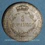 Monnaies Suisse. Principauté de Neuchâtel. Alexandre Bertier (1806-1814). 5 francs 181 (1813)