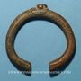 Monnaies Niger. Manille ou monnaie-bracelet. Bronze.