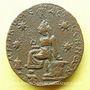Monnaies Alexandre Sévère (222-235) et Julia Mamée. Bronze. Edess (Mésopotamie). R/: la déesse de la cité
