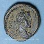 Monnaies Antonin le Pieux (138-161). Bronze. Aelia Capitolina (= Jérusalem, Judée)