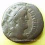 Monnaies Antonin le Pieux (138-161). Tétradrachme. Alexandrie, an 23 (159-160). R/: victoire marchant à dr.