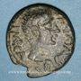 Monnaies Auguste (27 av. - 14 ap. J-C). Bronze. Berytus (Phénicie)