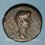 Monnaies Auguste (27 av. - 14 ap. J-C). Bronze frappé sous Trajan (98-117). Bérytus (Phénicie)