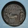 Monnaies Auguste ( 27 av. - 14 ap. J-C). Bronze. Lystra (Lycaonie)