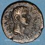 Monnaies Auguste ( 27 av. - 14 ap. J-C). Bronze. Panorme (Sicile)