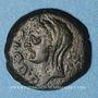 Monnaies Auguste (27 av. - 14 ap. J-C).  Quadrans. Carthage (Zeugitane), 10