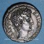 Monnaies Auguste (27 av. - 14 ap. J-C). Tétradrachme. Antioche sur l'Oronte an 28 = 4/3 av. J-C