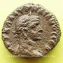 Monnaies Aurélien (270-275). Tétradrachme. Alexandrie, an 4 (272-273). R/: aigle debout à droite