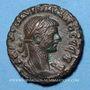 Monnaies Aurélien (270-275). Tétradrachme. Alexandrie, an 5 (hors champ) (273-274). R/: aigle debout à gauche