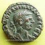 Monnaies Aurélien (270-275). Tétradrachme. Alexandrie, an 6 (274-275). R/: aigle debout à gauche