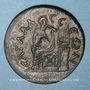 Monnaies Claude II le Gothique (268-270). 10 assaria. Sagalassos (Pisidie)