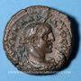 Monnaies Claude II le Gothique (268-270). Tétradrachme, Alexandrie, an 3 (270-271). R/: aigle debout à droite