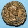 Monnaies Dioclétien (284-305). Tétradrachme. Alexandrie an 7 (290-291). R/: Zeus