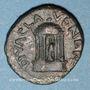 Monnaies Diva Poppée et Diva Claudia. Bronze. Caesarea Paneas (Caesarea Panias, Trachonite)