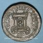 Monnaies Elagabale (218-222). Bronze. 28,03 mm. Sidon (Phénicie). R/: Char d'Astarté