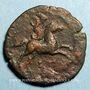 Monnaies Faustine jeune, épouse de Marc Aurèle († 175). Diobole. Alexandrie, an 3