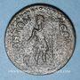 Monnaies Gallien (253-268). 5 assaria contremarqué sur 11 assaria. Sidé (Pamphylie)