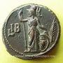 Monnaies Gallien (253-268). Tétradrachme. Alexandrie an 12 (264-265). R/: Athéna debout à gauche