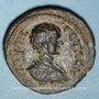 Monnaies Géta, césar (198-209). Bronze. Dium, Décapole. An 268 = 205/6