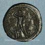 Monnaies Gordien III (238-244). 5 assaria. Marcianopolis (Moésie inférieure).  R/: Apollon