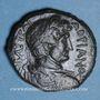 Monnaies Hadrien (117-138). Bronze. Gaza (Judée) an 4 de la visite 193 = 132/3AD.