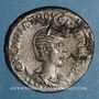 Monnaies Hérennia Etruscille, épouse de Trajan Dèce. Tétradrachme syro-phénicien. Antioche sur l'Oronte