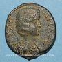 Monnaies Julia Domna, épouse de Septime Sévère († 217). Bronze. Hadrianopolis (Phrygie)