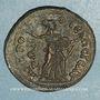 Monnaies Julia Domna, épouse de Septime Sévère († 217). Bronze, Isaura (Cilicie)