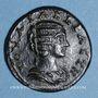 Monnaies Julia Domna, épouse de Septime Sévère († 217). Bronze. Tavium